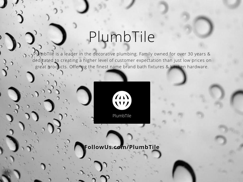 PlumbTile - Social Media