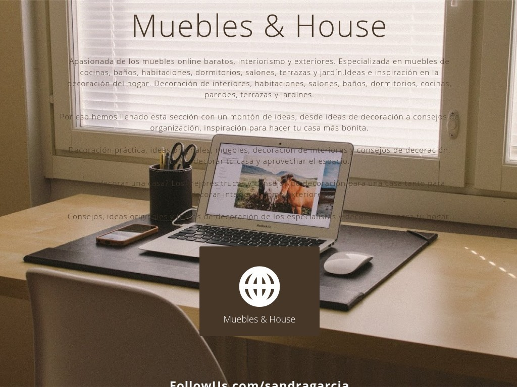 Muebles House Social Media